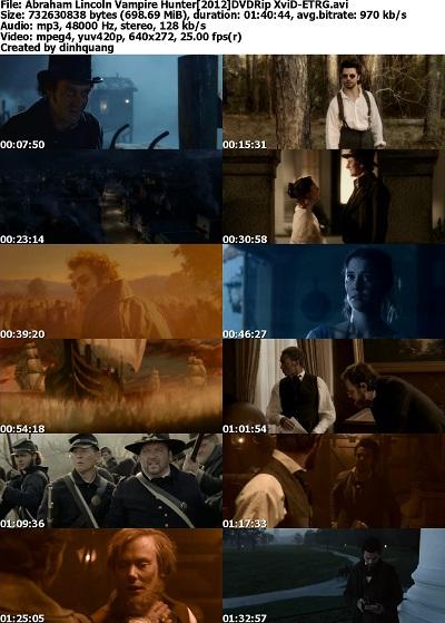 Abraham Lincoln: Vampire Hunter (2012) DVDRip [ vo ]
