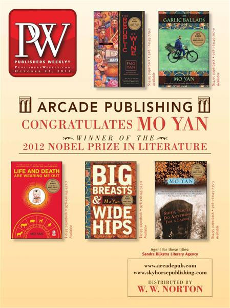 Publishers Weekly - 22 October 2012