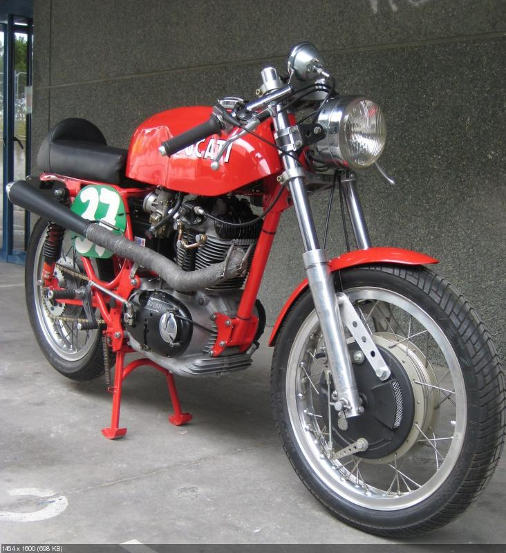 Мотоцикл Radical Ducati 350