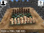Шашки и шахматы 3D / Checkers and chess 3D (2004/PC/Rus)