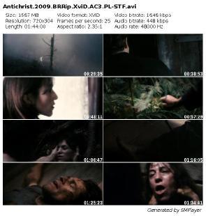 Antychryst / Antichrist (2009) BRRip.XviD.AC3.PL-STF / Lektor PL + x264