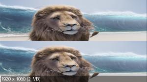 Хроники Нарнии: Покоритель Зари в 3Д / The Chronicles of Narnia: The Voyage of the Dawn Treader 3D Вертикальная анаморфная
