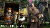 Мадагаскар 3 / Madagascar 3 (2012) BDRip 720p+1080p | Лицензия